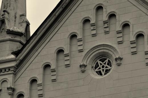First Presbyterian Church Apache Texas-built 1873