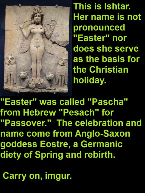 Ishtar not Easter