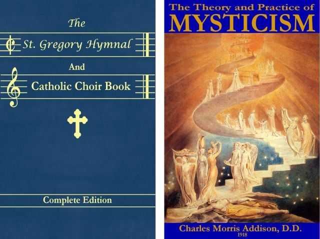 Covers for St Gregory and Mysticism