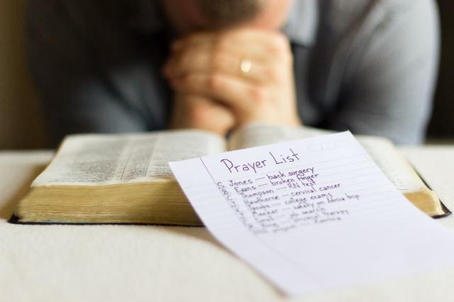 Intercessory Prayer 1