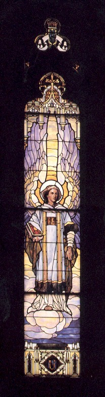 uriel window - Our Lady of Mount Carmel