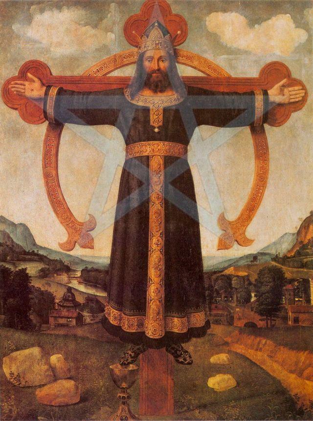 ChristusRexOmega-Piero di Cosimo - Pentagram