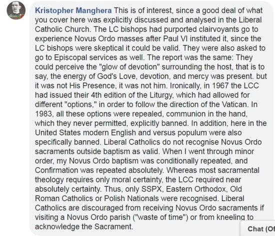 fr kristopher response