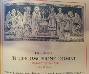 Festum Circumcisionis Christi