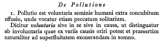 De Pollutione