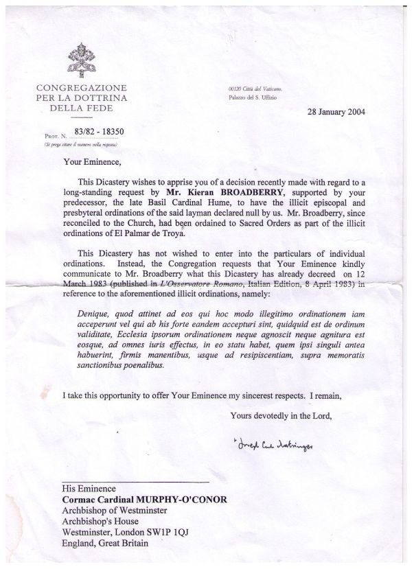 Broadberry - CDF Declaration