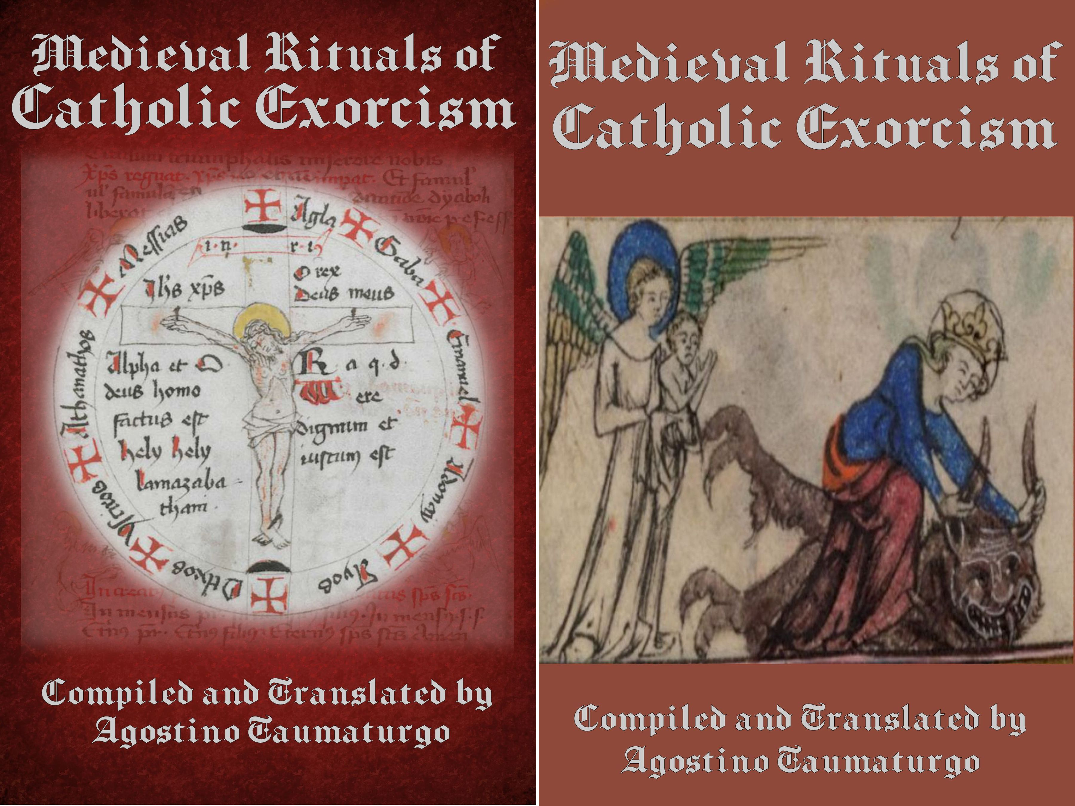 Medieval Rituals of Catholic Exorcism Covers